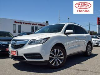 Used 2016 Acura MDX Nav Pkg - Leather - Sunroof -  Roof Rack for sale in Mississauga, ON