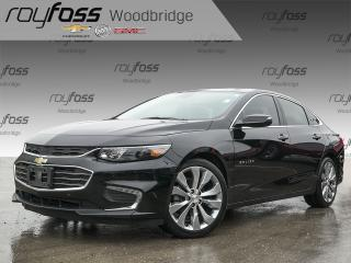 Used 2017 Chevrolet Malibu Premier w-2LZ, SUNROOF, BOSE, LOADED for sale in Woodbridge, ON