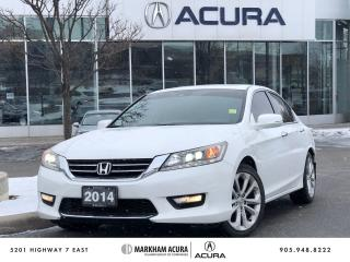 Used 2014 Honda Accord Touring V6 Sedan for sale in Markham, ON