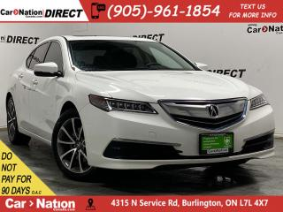 Used 2015 Acura TLX SH-AWD| SUNROOF| BACK UP CAMERA| PUSH START| for sale in Burlington, ON