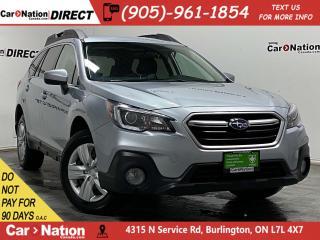 Used 2018 Subaru Outback 2.5i| AWD| HEATED SEATS| BACK UP CAMERA| for sale in Burlington, ON