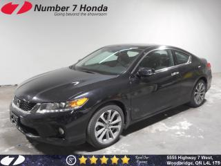 Used 2015 Honda Accord EX-L-NAVI V6| 6-Speed Manual| Loaded| for sale in Woodbridge, ON