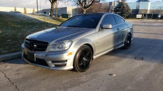 Used 2012 Mercedes-Benz C-Class 2dr Cpe 3.5L RWD for sale in Vaughan, ON