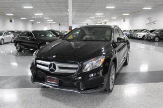 Used 2017 Mercedes-Benz GLA GLA250 I NAVIGATION I REAR CAM I PANOROOF I LEATHER I BT for sale in Mississauga, ON