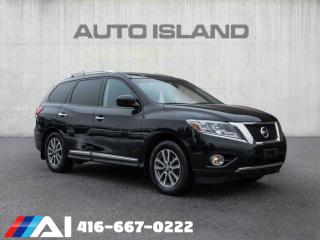 Used 2014 Nissan Pathfinder SL AWD LEATHER SUNROOF 7PASS BACK UP CAMERA for sale in North York, ON