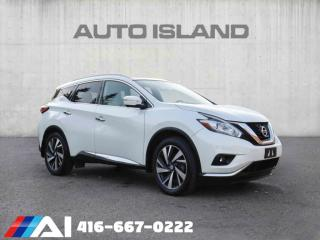 Used 2015 Nissan Murano PLATINUM AWD 360 CAMERA NAVIGATION LEATHER SUNTOOF for sale in North York, ON