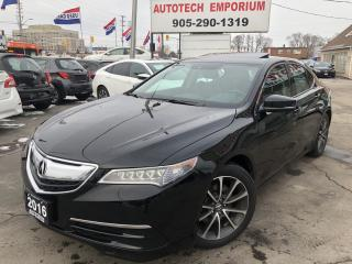 Used 2016 Acura TLX SH-AWD w/Tech Pkg Navi/Leather/Sunroof for sale in Mississauga, ON