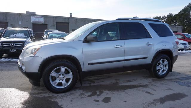 2009 GMC Acadia SLE-1 7 PASSNGR CERTIFIED 2YR WARRANTY *FREE ACCIDENT* CRUISE ALLOYS TOW CAPACITY KEYLESS