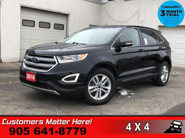 2016 Ford Edge SEL  V6 AWD NAV PANO-ROOF LEATH CAM P/GATE