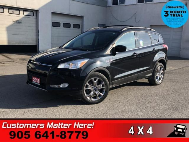 2014 Ford Escape SE  4X4 LEATHER ROOF REAR-CAM HS BT