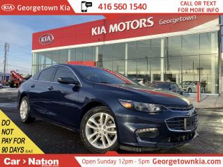 Used 2017 Chevrolet Malibu LT | ONSTAR NAV | LEATHER | BOSE | B/U CAM |LOW KM for sale in Georgetown, ON