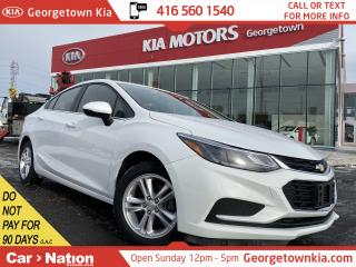 Used 2017 Chevrolet Cruze 1.4L LT | HEATED SEATS | B/U CAM | BLUETOOTH | for sale in Georgetown, ON