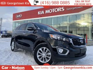 Used 2018 Kia Sorento LX | BLUETOOTH | HTD SEATS | LOW KM | PWR GROUP | for sale in Georgetown, ON