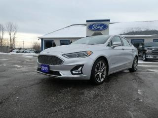 Used 2019 Ford Fusion Hybrid Titanium - SALE PENDING - NAVIGATION - REMOTE START - LEATHER - SUNROOF for sale in Essex, ON