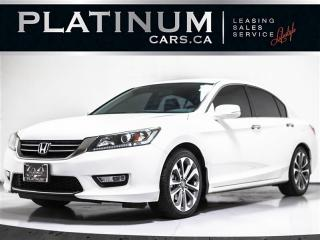 Used 2013 Honda Accord CVT SPORT, CAM, LEATHER STEERING, 18 IN ALLOY WHEE for sale in Toronto, ON