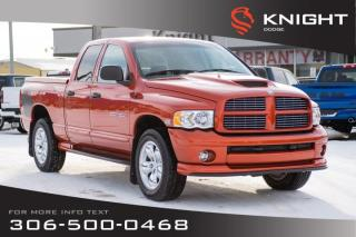 Used 2005 Dodge Ram 1500 Daytona - Like New - Super Low Mileage - Rare Find! for sale in Swift Current, SK