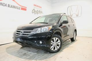Used 2012 Honda CR-V Traction intégrale 5 portes EX-L for sale in Blainville, QC