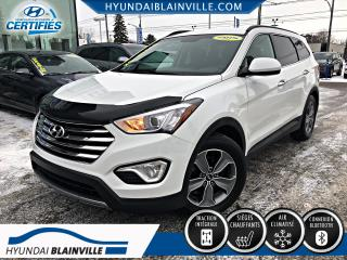 Used 2015 Hyundai Santa Fe XL PREMIUM AWD 7 PASSAGERS, MAGS, BLUETOOTH for sale in Blainville, QC