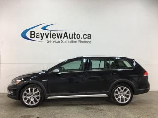 Used 2019 Volkswagen Golf Alltrack 1.8 TSI Execline - AWD! HTD LEATHER! NAV! PANOROOF! LOADED! for sale in Belleville, ON