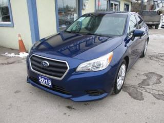 Used 2015 Subaru Legacy ALL-WHEEL DRIVE LOADED 5 PASSENGER 2.5L - SOHC.. HEATED SEATS.. BACK-UP CAMERA.. BLUETOOTH SYSTEM.. PARTIAL ZERO-EMISSION VEHICLE.. for sale in Bradford, ON