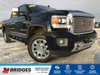 Used 2017 GMC Sierra 2500 HD Denali**DIESEL | LOADED | ONE OWNER** for sale in North Battleford, SK