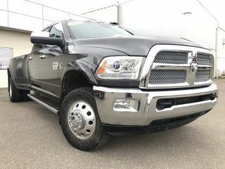 Used 2015 RAM 3500 Longhorn**Diesel | Roof | Leather** for sale in North Battleford, SK