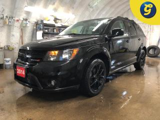 Used 2014 Dodge Journey Blacktop * Navigation * Power sunroof * Remote start * Reverse camera with park assist * Push button ignition * Roof Rack * Keyless/Passive entry * Ph for sale in Cambridge, ON