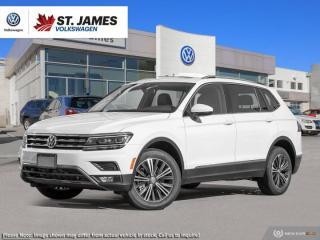 New 2019 Volkswagen Tiguan Highline for sale in Winnipeg, MB