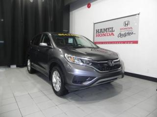 Used 2015 Honda CR-V SE 4WD PRATIQUE !!! for sale in St-Eustache, QC