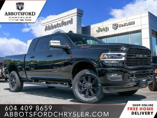 New 2019 RAM 3500 Big Horn - Diesel Engine - Night Edition for sale in Abbotsford, BC