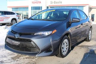 Used 2017 Toyota Corolla LE BLUETOOTH SIEGES CHAUFFANTS CAMERA RECUL for sale in St-Basile-le-Grand, QC