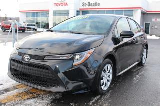 Used 2020 Toyota Corolla LE BLUETOOTH GROUPE ÉLECTRIQUE CLIM CRUISE for sale in St-Basile-le-Grand, QC