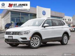 New 2019 Volkswagen Tiguan Trendline for sale in Winnipeg, MB