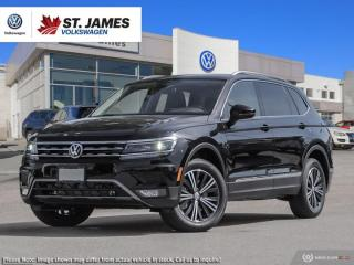 New 2020 Volkswagen Tiguan Highline for sale in Winnipeg, MB