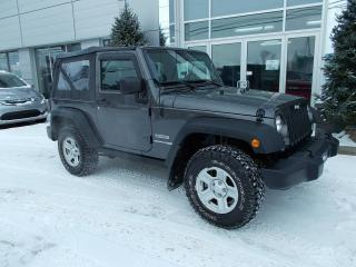 Used 2018 Jeep Wrangler SPORT for sale in Rivière-Du-Loup, QC