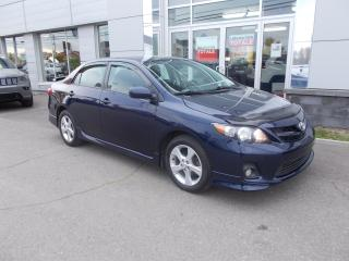 Used 2013 Toyota Corolla S for sale in Rivière-Du-Loup, QC
