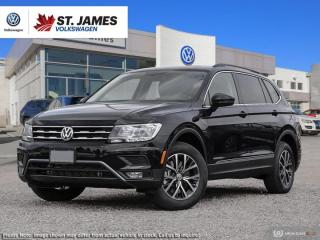 New 2019 Volkswagen Tiguan COMFORTLINE for sale in Winnipeg, MB