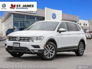 New 2020 Volkswagen Tiguan COMFORTLINE for sale in Winnipeg, MB
