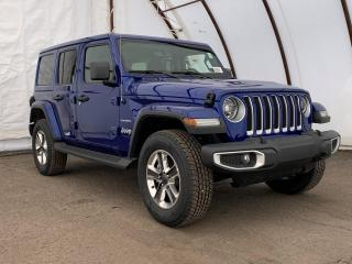 New 2020 Jeep Wrangler Unlimited Sahara UNLIMITED SAHARA 4X4 for sale in Ottawa, ON
