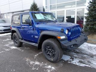 Used 2020 Jeep Wrangler SPORT for sale in Rivière-Du-Loup, QC