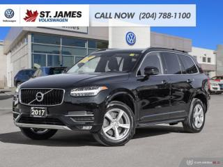 Used 2017 Volvo XC90 T5 Momentum, LEATHER, NAVIGATION, HEATED SEATS, BLUETOOTH for sale in Winnipeg, MB