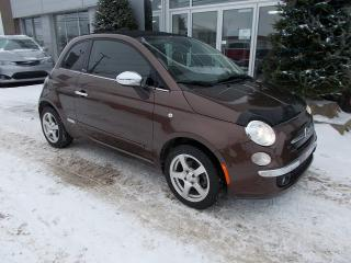 Used 2013 Fiat 500 C Lounge for sale in Rivière-Du-Loup, QC