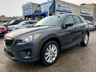 Used 2014 Mazda CX-5 GT BLIND SPOT|NAVI|CAMERA|SUNROOF|ALLOYS for sale in Concord, ON