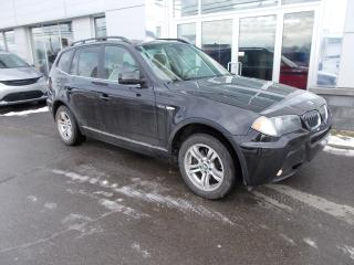 Used 2006 BMW X3 3.0I for sale in Rivière-Du-Loup, QC