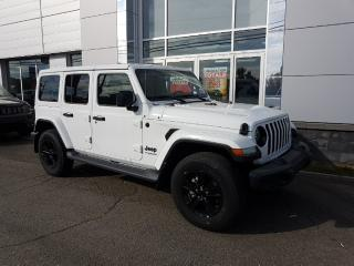 Used 2019 Jeep Wrangler Unlimited Sahara for sale in Rivière-Du-Loup, QC