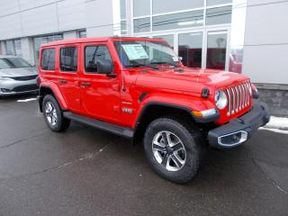 Used 2020 Jeep Wrangler Unlimited Sahara for sale in Rivière-Du-Loup, QC
