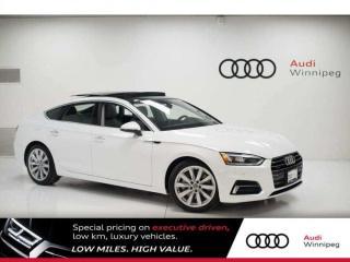 Used 2018 Audi A5 Sportback Progressiv w/LED Headlights *DEMO* for sale in Winnipeg, MB