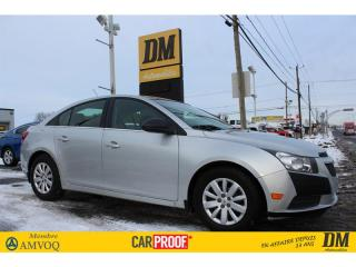 Used 2011 Chevrolet Cruze LS CLIMATISEUR GROUPE ELECTRIQUE for sale in Salaberry-de-Valleyfield, QC