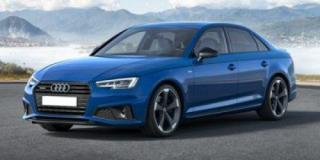 New 2019 Audi A4 Sedan Progressiv w/Heated Rear Seats *DEMO* for sale in Winnipeg, MB