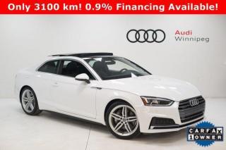 Used 2018 Audi A5 Coupe Progressiv w/S-Line & LED Headlights for sale in Winnipeg, MB